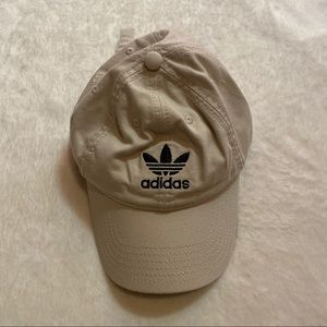 Adidas Cream Beige Off White Hat